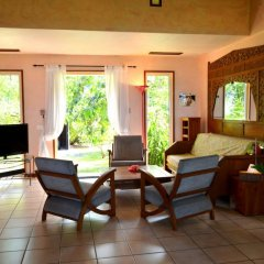 Отель Maison Te Vini Holiday home 3 Французская Полинезия, Пунаауиа - отзывы, цены и фото номеров - забронировать отель Maison Te Vini Holiday home 3 онлайн интерьер отеля фото 3