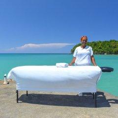 Отель Kaz Kreol Beach Lodge & Wellness Retreat фитнесс-зал