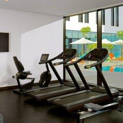 Отель Aloft Me'aisam, Dubai фитнесс-зал фото 2