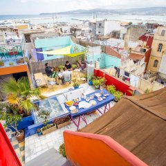 Отель Bayt Alice Марокко, Танжер - отзывы, цены и фото номеров - забронировать отель Bayt Alice онлайн бассейн фото 2