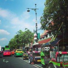 Grandpa's Hostel Bangkok Бангкок городской автобус