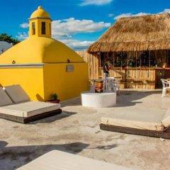 Отель Agavero Hostel Мексика, Канкун - отзывы, цены и фото номеров - забронировать отель Agavero Hostel онлайн бассейн фото 3