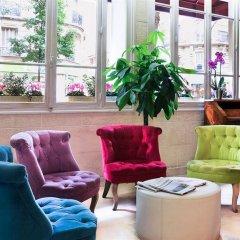 Отель Hôtel Eden Montmartre интерьер отеля