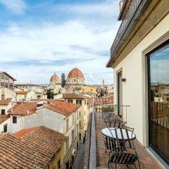 Отель Machiavelli Palace Флоренция балкон