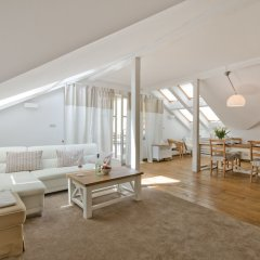 Апартаменты Imperial Apartments - Nautica Сопот комната для гостей фото 5