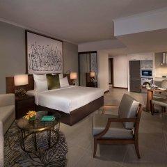 Отель Pullman Dubai Creek City Centre Residences комната для гостей