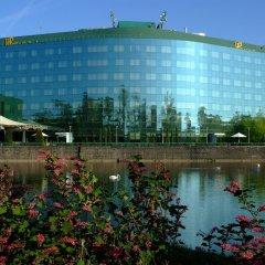 Отель HP Park Plaza Wroclaw Польша, Вроцлав - отзывы, цены и фото номеров - забронировать отель HP Park Plaza Wroclaw онлайн приотельная территория фото 2
