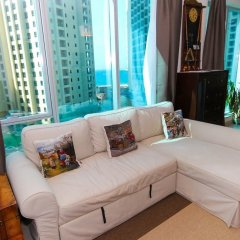 Отель Marina Promenade – Delphine Tower/Dubai Marina 1BR Luxury Apt Sea View Sleeps 3 - HLS 37921 комната для гостей
