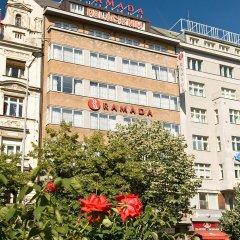 Отель Ramada Prague City Centre (ex. Ramada Grand Symphony) Прага балкон