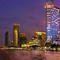Отель Millennium Hilton Bangkok Бангкок вид на фасад