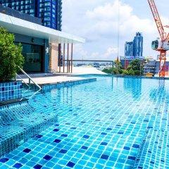Апартаменты Sixty Six Pattaya Beach Road Apartment Паттайя бассейн