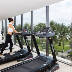 Отель StarCity Nha Trang фитнесс-зал фото 3