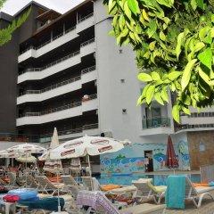 Acar Hotel пляж