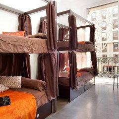 Hip Karma Hostel Барселона комната для гостей
