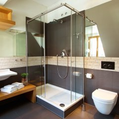 rostock apartment LIVING HOTEL ванная