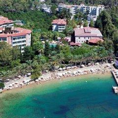 Alara Park Hotel пляж фото 3