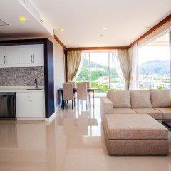 Отель Q Conzept Condominium пляж Ката комната для гостей фото 2
