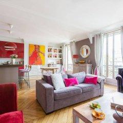 Отель onefinestay - Montparnasse Apartments Франция, Париж - отзывы, цены и фото номеров - забронировать отель onefinestay - Montparnasse Apartments онлайн комната для гостей фото 3