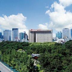 Отель Ramada Seoul Южная Корея, Сеул - отзывы, цены и фото номеров - забронировать отель Ramada Seoul онлайн балкон