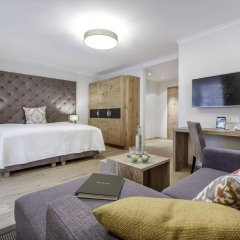 Отель Das Central – Alpine . Luxury . Life комната для гостей фото 5