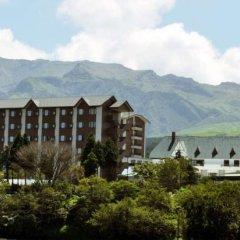 Aso Villa Park Hotel Минамиогуни приотельная территория