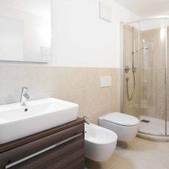 Отель Laubenhaus Больцано ванная