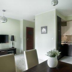 Отель Silver Apartments Польша, Варшава - отзывы, цены и фото номеров - забронировать отель Silver Apartments онлайн комната для гостей фото 3