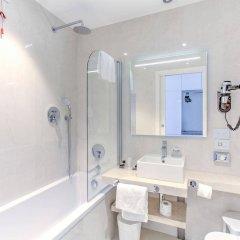 Отель MH Florence Hotel & Spa Италия, Флоренция - 2 отзыва об отеле, цены и фото номеров - забронировать отель MH Florence Hotel & Spa онлайн ванная фото 2