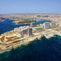 Отель Modern Seaview Apartment In a Prime Location Мальта, Слима - отзывы, цены и фото номеров - забронировать отель Modern Seaview Apartment In a Prime Location онлайн приотельная территория фото 2