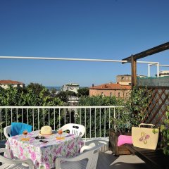 Hotel Capri Римини балкон фото 2