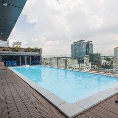 Отель Millennium Boutique Hotel Вьетнам, Хошимин - 1 отзыв об отеле, цены и фото номеров - забронировать отель Millennium Boutique Hotel онлайн бассейн фото 2