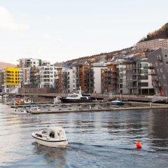 Апартаменты Damsgård Apartments пляж