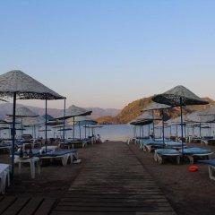 Kontes Beach Hotel Турция, Мармарис - отзывы, цены и фото номеров - забронировать отель Kontes Beach Hotel онлайн приотельная территория
