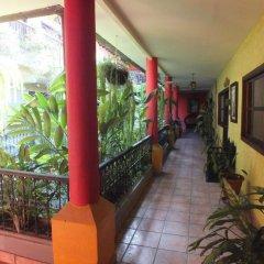 Отель Camino Maya Копан-Руинас вид на фасад