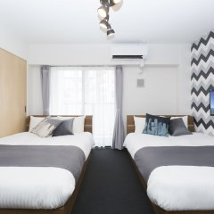 Residence Hotel Hakata 18 Фукуока комната для гостей фото 4