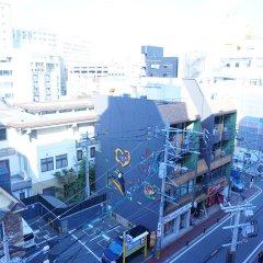 Отель Etwas Tenjin Япония, Тэндзин - отзывы, цены и фото номеров - забронировать отель Etwas Tenjin онлайн балкон
