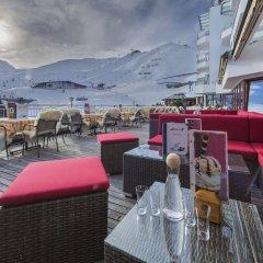 Отель Alpenhotel Enzian Зёльден гостиничный бар