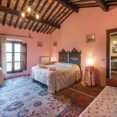 Отель Villa Arzilla Country House Виторкиано сейф в номере