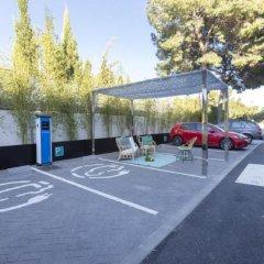 Отель Apartamentos Sotavento - Только для взрослых парковка