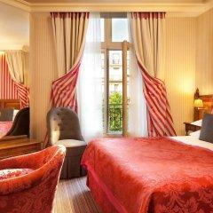 Отель Hôtel Au Manoir St-Germain des Prés комната для гостей фото 4