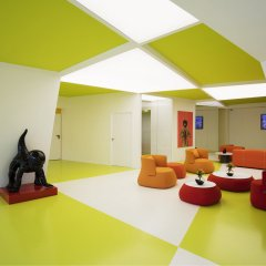Апартаменты Cosmo Apartments Sants Барселона интерьер отеля