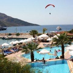 Pirat Турция, Калкан - отзывы, цены и фото номеров - забронировать отель Pirat онлайн бассейн фото 3