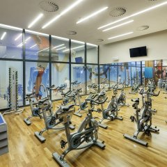 DoubleTree by Hilton Hotel & Conference Centre Warsaw фитнесс-зал фото 2