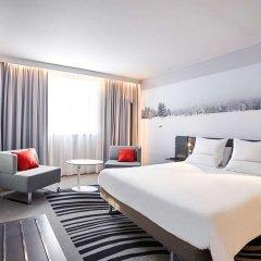 Отель Novotel Waterloo Лондон комната для гостей