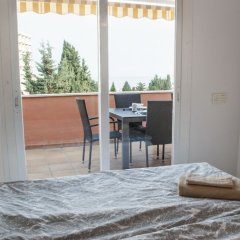 Отель Lovely Penthouse with Sea View Ref 9 Торремолинос балкон