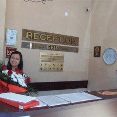 Отель Efir Holiday Village Болгария, Солнечный берег - отзывы, цены и фото номеров - забронировать отель Efir Holiday Village онлайн интерьер отеля