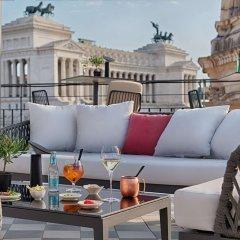 Отель Nh Collection Roma Fori Imperiali Рим бассейн