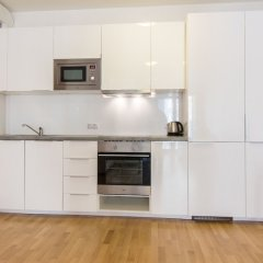 Апартаменты New Modern Apartment with Zizkov Parking в номере