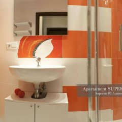 Отель Apartament Polar Польша, Познань - отзывы, цены и фото номеров - забронировать отель Apartament Polar онлайн ванная фото 2