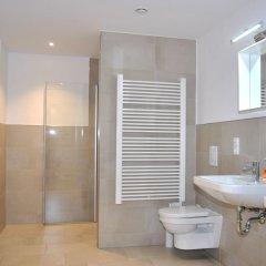 Отель Trafford Sky Homes Германия, Лейпциг - отзывы, цены и фото номеров - забронировать отель Trafford Sky Homes онлайн ванная фото 2